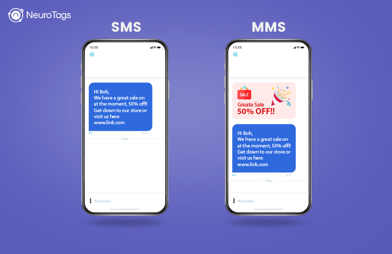 difference between mms and sms